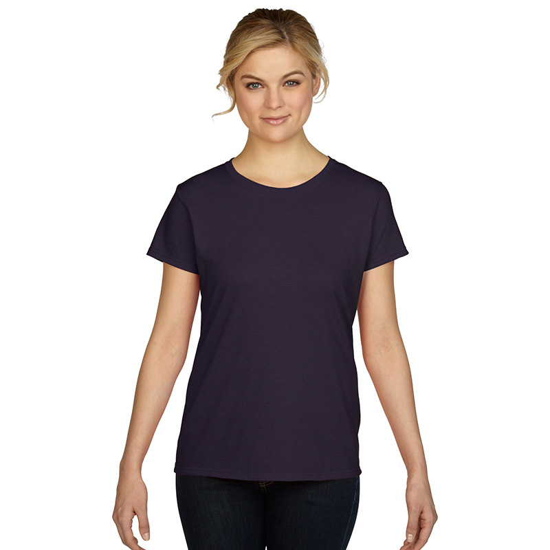 Fabric: – 100% Cotton Jersey Weight: – 180 g/m2 (175 g/m2 in White) Sizes: – S, M, L, XL, 2XL, 3XL  – See colours for exceptions – Missy contoured silhouette with side seam – Seamless double needle 1.27 cm collar – Taped neck and shoulders – Tearaway label – Cap sleeves – Double needle sleeve and bottom hems